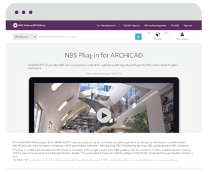 NBS Plug-in for ARCHICAD