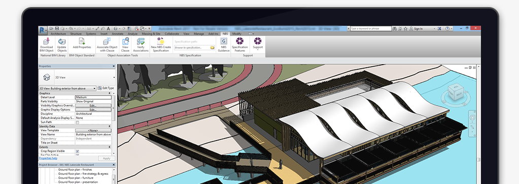 nbs plug in for autodesk revit nbs national bim library