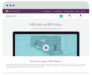 What is NBS National BIM Library?