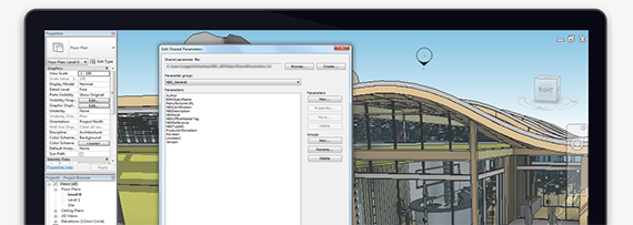 Screenshot of NBS BIM Object Shared Parameters for Autodesk® Revit®